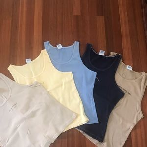 Old Navy Tanks - 5 included